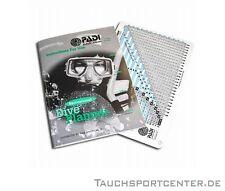 PADI Open Water Diver (OWD) RDP + RDP-Manual - GERMAN Deutsch