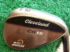 "Cleveland CG15 Oil Quench 52* Gap Wedge W/ traction steel wedge-stiff  MRH 35.5"""