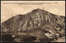 cartolina IMPERIA monumento al ss.redentore su vetta orient. del m. saccarello