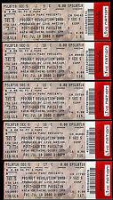 Linkin Park Tickets Projekt Revolution 5 Rare Unused Concert Post Gazzette PA
