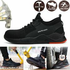Men's Work Safety Shoes Steel Toe Cap Bulletproof Boots Indestructible Sneakers