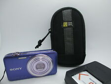 Sony Digital Camera Cybershot DSC-WX7 16MP Camera Optical X5 With Charger case