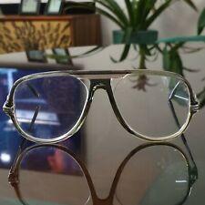 Cazal MOD 804 COL 20 OG Frames Green and silver used glasses eyewear