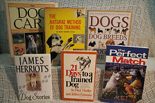 lot BREEDS & CARE MANUAL NATURAL METHOD OF DOG TRAINING 21 DAYS TO A TRAINED