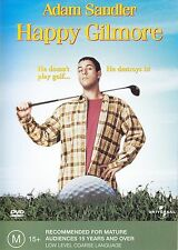 Happy Gilmore DVD Movie BRAND NEW Adam Sandler R4