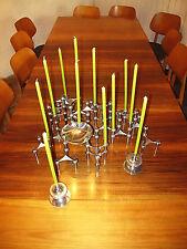 NAGEL Kerzenständer Steck System Skulptur 30 teilig candle holder sculpture