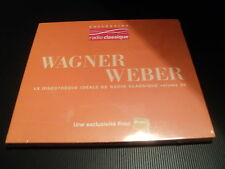 """CD DIGIPACK NEUF """"WAGNER - WEBER"""" Collection Radio Classique Vol. 35"""