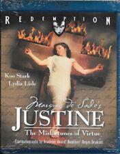MARQUIS DE SADE'S JUSTINE (Blu-Ray) New & Sealed!