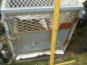 large animal cage very heavy duty