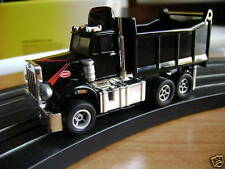 2009 Sold Out Autoworld Xtraction Black Dump Truck Ho Slot Car Fits Aurora Afx .