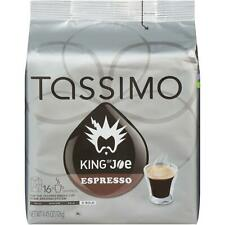 King of Joe Espresso T-Disc for Tassimo Brewing System, 16 Count
