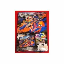 Splatoon Fleece Blanket Orange VS Blue Ver. Japan new.