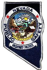 NEVADA HIGHWAY PATROL – PUBLIC SAFETY – NV Sheriff Police Patch – STATE SHAPE ~