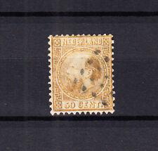 Nederland 12 Willem III 1867 gestempeld, pracht exemplaar