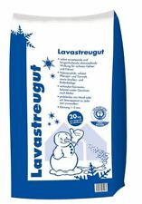 (0,55€/1kg) 20 kg Sack Lavastreugut Lava Streu Granulat Winterstreu Blähton Stre