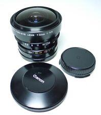 Canon FD Fisch-Eye 1:5.6 7.5mm Objektiv    An-Verkauf  ff-shop24