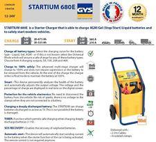 GYS startium 680e AGM freno Arranque 12a-24 voltaje batería Cargador 675amp