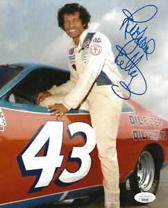 Richard Petty Daytona 500 signed Nascar 8x10 photo autographed The King 9 JSA