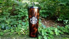 Starbucks 24oz. Tumbler with Straw - Mocha Swirl