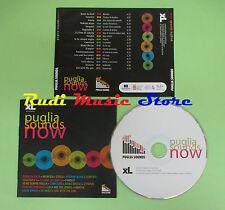 CD PUGLIA SOUND NOW compilation PROMO BOOM DA BASH INSINTESI STEELA (C22)