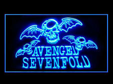 Avenged Sevenfold Bar Pub Ads Led Light Sign B