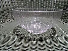 "Vintage Stuart Crystal of England 8"" Footed Hampshire Bowl"