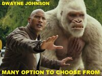 Dwayne Johnson / The Rock Movies - Many Options to choose from * w/ Free Ship