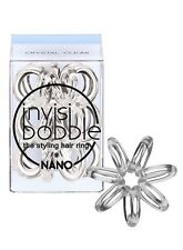 INVISIBOBBLE NANO THE TRACELESS HAIR RING 3 PCS IN PACK - CRYSTAL CLEAR