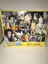 Elvis Presley 1000 Piece Jigsaw Puzzle, Hoyle Products, Elvis Signature