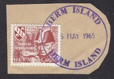 Channel Islands - Herm Island - Liberation Anniv 1965 - 1st day- on paper (C21J)