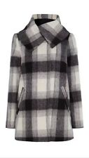 Coast Williamsburg Check Coat Size 14 Wool Coat