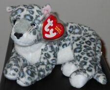 Ty Beanie Baby ~ SUNDAR the WWF Snow Leopard (8 Inch)(Internet Exclusive) MWMT