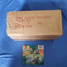 1993 Mighty Morphin Power Rangers Sunglasses Gordy Toy SEALED lot of 25 box DARE