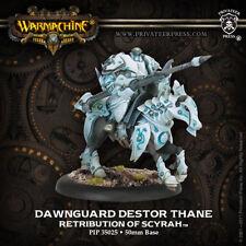 Warmachine - Retribution of Scyrah: Dawnguard Destor Thane PIP35025 NEW