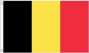 Belgium Polyester Flag - Choice of Sizes