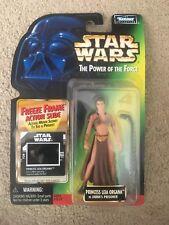 Star Wars Power Of The Force Princess Leia Organa Jabba's Prisoner Freeze Frame