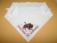 VINTAGE BSA BOY SCOUTS OF AMERICA NECKERCHIEF SISILIJA LODGE SCHENECTADY NY
