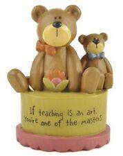 """1280 - Blossom Bucket Bears """"Teaching Is An Art"""" Bears - NEW"""