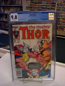THOR #338 Newsstand (Marvel, 1983) CGC Graded 9.8 ~ Beta Ray Bill ~ WHITE Pages