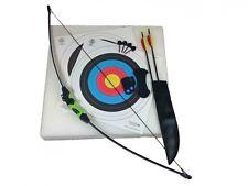Genuine Archery Wildcat Kids Junior Recurve Bow and Arrow Set with Target