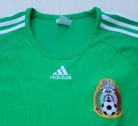 Adidas Mexico Green Jersey Men's Medium Federacion Mexicana