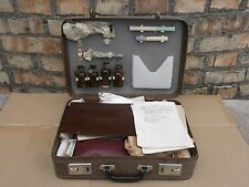 Vintage Old Doctor's Medical Bag with Instruments tools First Aid New old stock