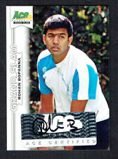 Rohan Bopanna signed autograph auto 2013 Ace Authentic Grand Slam Tennis Card