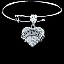 Volleyball Bracelet  Volleyball jewelry best jewelry gift for player or team fan