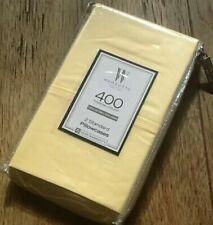 Brand New BUTTER YELLOW Wamsutta 400 TC 100% Cotton Sateen STANDARD Pillowcases