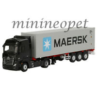 TSM MINI GT MGT00112 MERCEDES BENZ ACTROS & TRAILER & 40' CONTAINER MAERSK 1/64