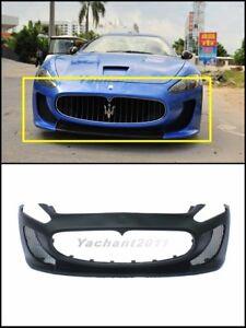 FiberGlass GT-MC-Corse-Style Front Bumper For 08-13 Maserati Gran Turismo GT GTS