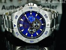Invicta Men's Pro Diver Ocean Cruiser Swiss ISA Multifunction BLUE Dial SS Watch