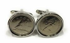 Premium 1998 Canadian Dime for a 22nd Birthday or Anniversary cufflinks