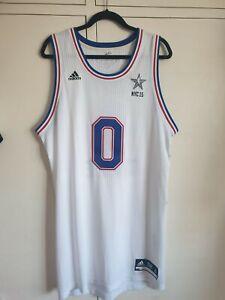 2015 NBA All Star Authentic Jersey Jeff Teague Adidas Rev 30 XL+2 New York Hawks